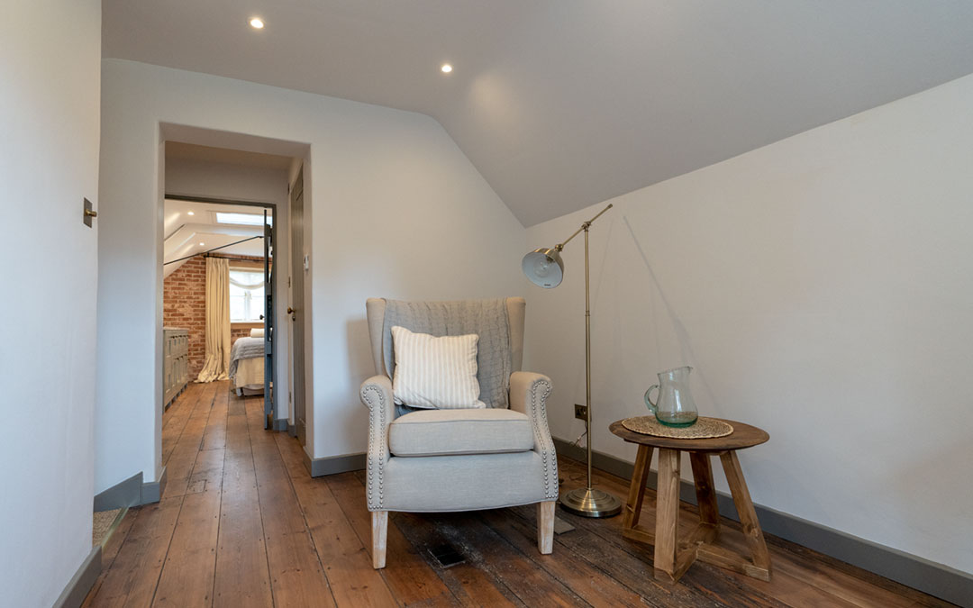 Manicure, pedicure, luxury treatment room at The Potting Shed near Frome