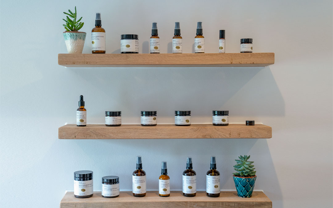 Evolve Organic products for sale at The Potting Shed Bradley Park, Maiden Bradley